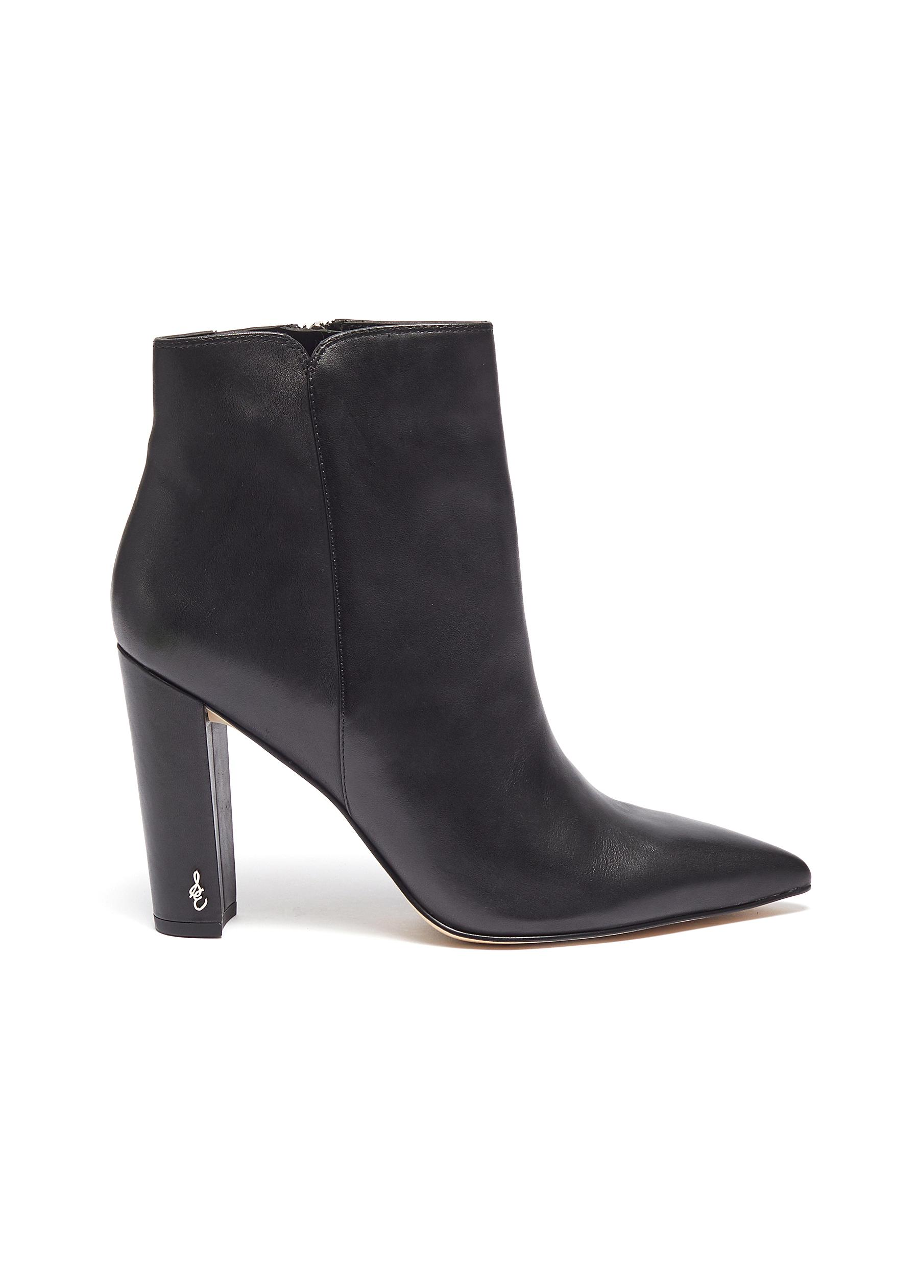 Raelle leather ankle boots by Sam Edelman