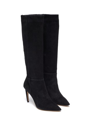 Detail View - Click To Enlarge - SAM EDELMAN - 'Fraya' suede knee high boots