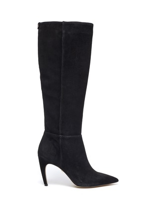 Main View - Click To Enlarge - SAM EDELMAN - 'Fraya' suede knee high boots