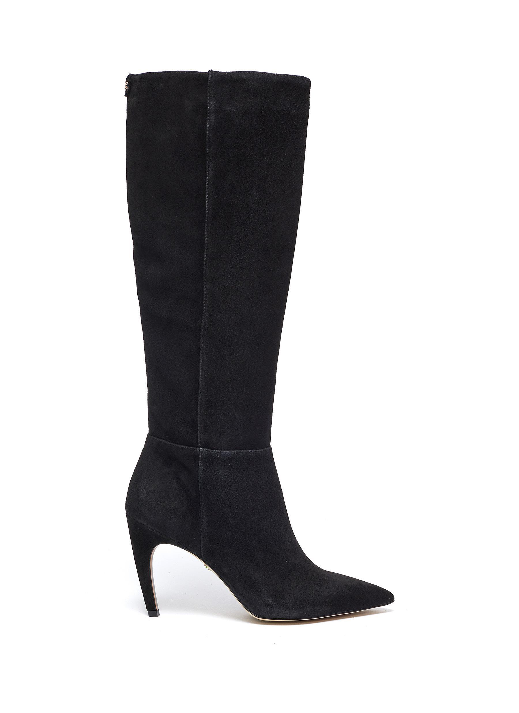 Fraya suede knee high boots by Sam Edelman
