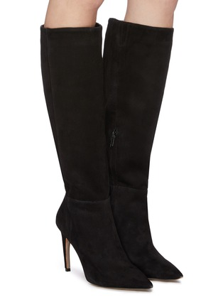 Figure View - Click To Enlarge - SAM EDELMAN - 'Fraya' suede knee high boots