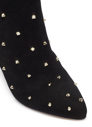 Detail View - Click To Enlarge - SAM EDELMAN - 'Waylyn' stud suede boots