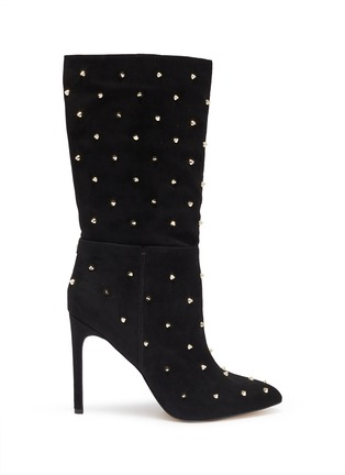Main View - Click To Enlarge - SAM EDELMAN - 'Waylyn' stud suede boots