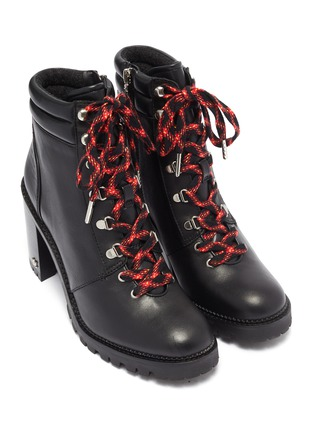 Detail View - Click To Enlarge - SAM EDELMAN - 'Sade' lace up leather hiking boots