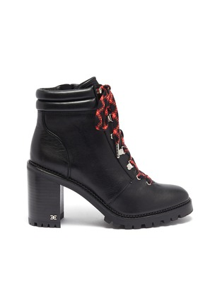 Main View - Click To Enlarge - SAM EDELMAN - 'Sade' lace up leather hiking boots