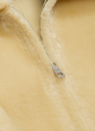 - COMMON LEISURE - 'Courage' Merino Shearling Jacket