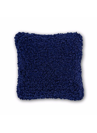Main View - Click To Enlarge - TOM DIXON - Boucle cushion – Electric Blue