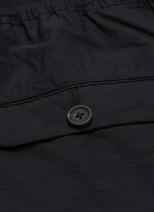 - ZIGGY CHEN - Drawstring panelled shorts