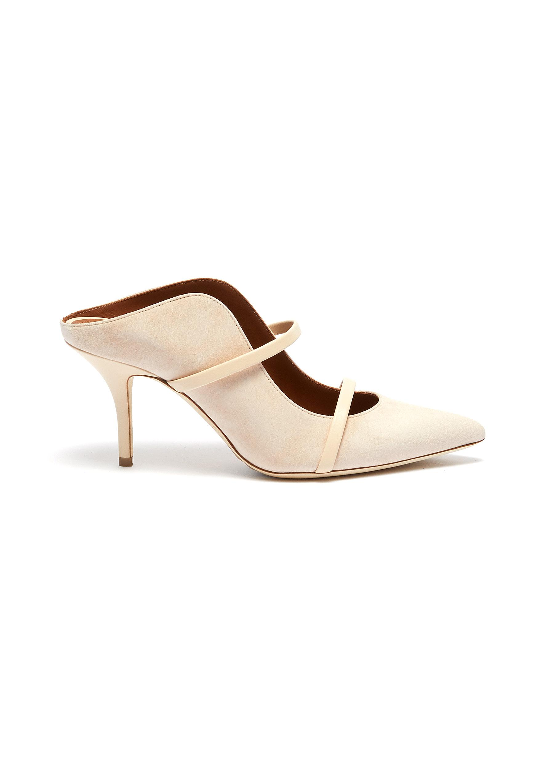 Maureen strappy suede mules by Malone Souliers