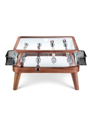 Main View - Click To Enlarge - TECKELL - Intervallo Foosball Table – Walnut