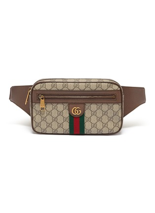 Main View - Click To Enlarge - GUCCI - 'Ophidia' monogram print bum bag