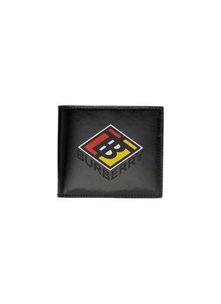 Main View - Click To Enlarge - BURBERRY - Logo print bi-fold wallet