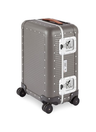 Main View - Click To Enlarge - FABBRICA PELLETTERIE MILANO - Bank light spinner 55 M aluminium suitcase