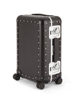 Main View - Click To Enlarge - FABBRICA PELLETTERIE MILANO - Bank spinner 68 aluminium suitcase