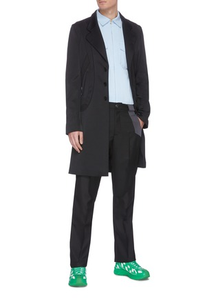 Figure View - Click To Enlarge - KIKO KOSTADINOV - Lasso Long Blazer Coat