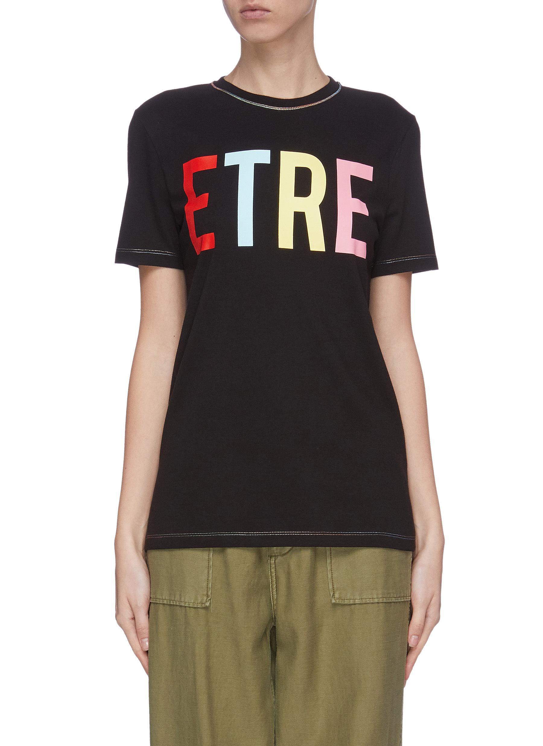 shop Être Cécile Etre Logo T-Shirt online