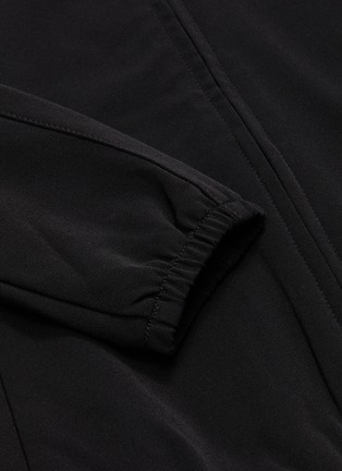 - JAMES PERSE - Cropped funnel neck track jacket
