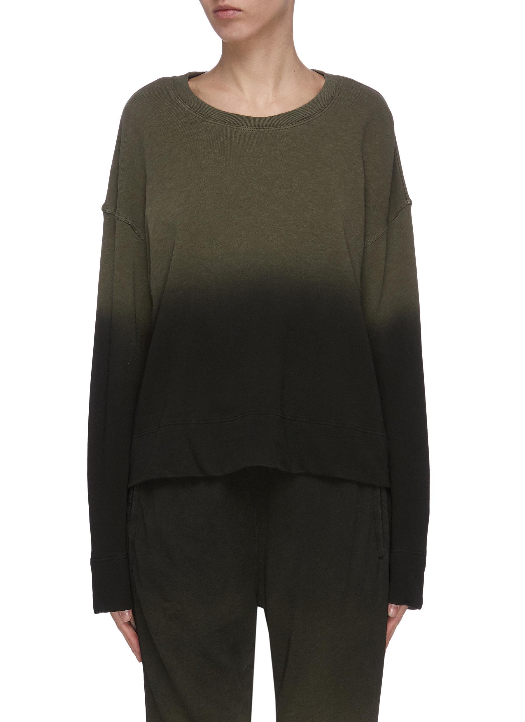 shop James Perse Spray dyed raglan sweatshirt online