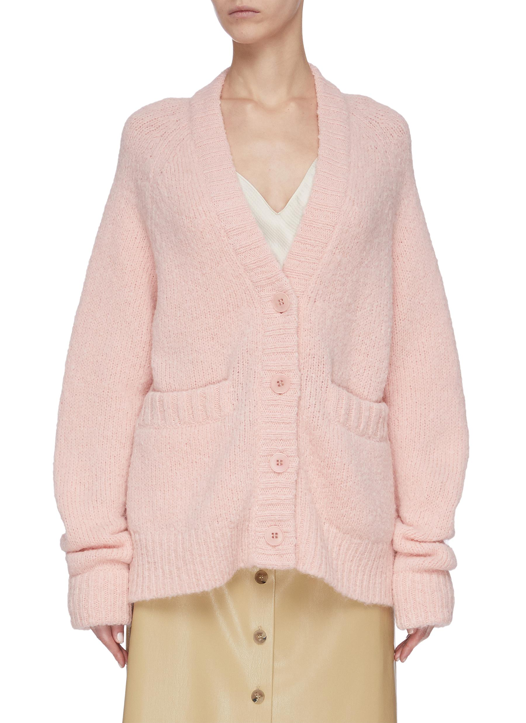 Buy Tibi Knitwear 'Cozette' alpaca wool blend cardigan