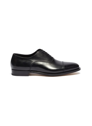 Main View - Click To Enlarge - SANTONI - 'Wilson' leather Oxfords