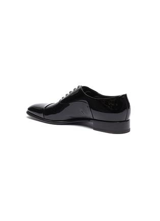 - SANTONI - 'Moore' patent leather Oxfords