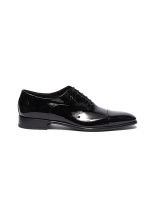 Main View - Click To Enlarge - SANTONI - 'Moore' patent leather Oxfords