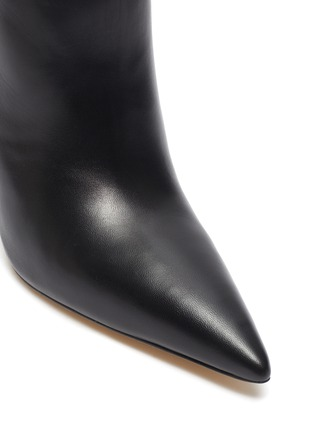 Detail View - Click To Enlarge - CULT GAIA - 'Cam' stack ball heel ankle boots