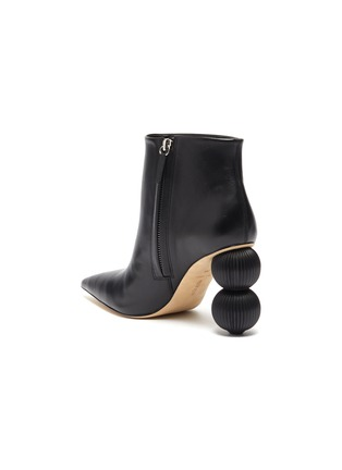 - CULT GAIA - 'Cam' stack ball heel ankle boots