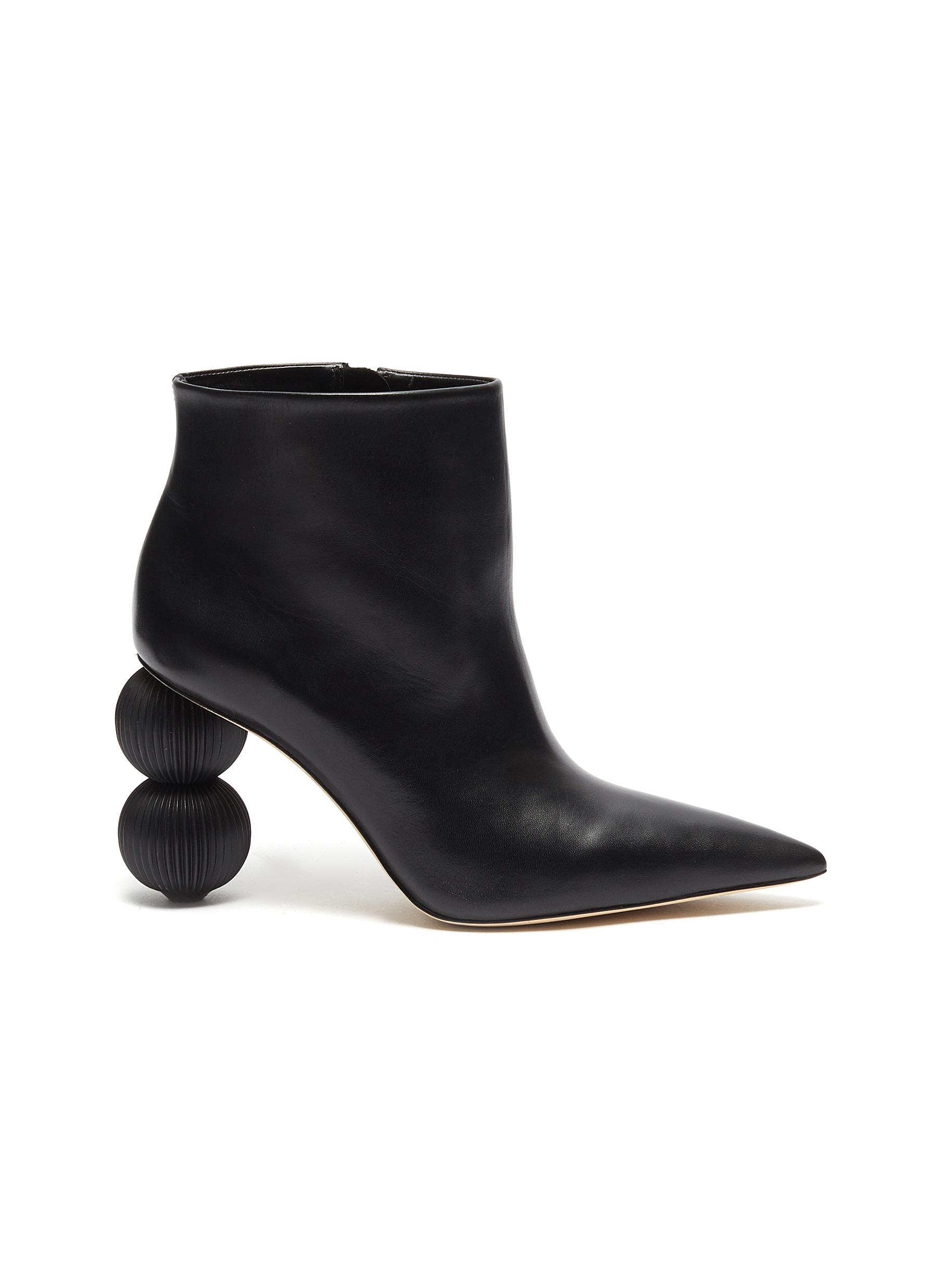Cam stack ball heel ankle boots by Cult Gaia