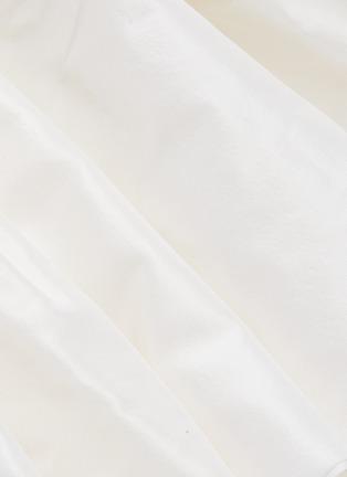 - LEAL DACCARETT - 'Perlas Blancas' ruffle sleeveless dress
