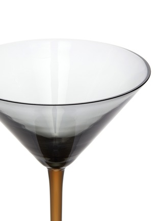 Detail View - Click To Enlarge - BOTTEGA VENETA - Martini Glass – Ash