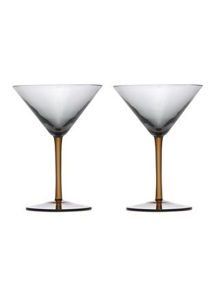 Main View - Click To Enlarge - BOTTEGA VENETA - Martini Glass – Ash