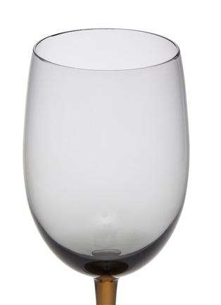Detail View - Click To Enlarge - BOTTEGA VENETA - White Wine Glass – Ash