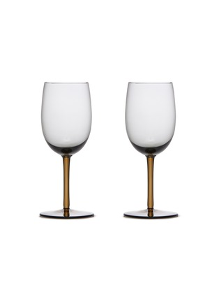Main View - Click To Enlarge - BOTTEGA VENETA - White Wine Glass – Ash