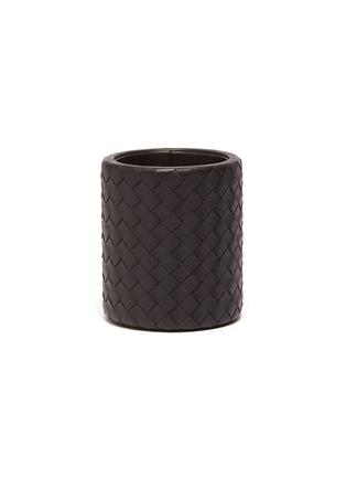 Main View - Click To Enlarge - BOTTEGA VENETA - Leather Pencil Pot – Espresso