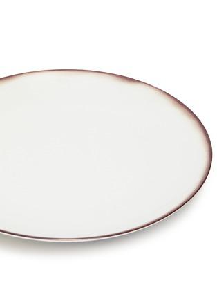 Detail View - Click To Enlarge - BOTTEGA VENETA - Vanishing Woven Dinner Plate – Ebano