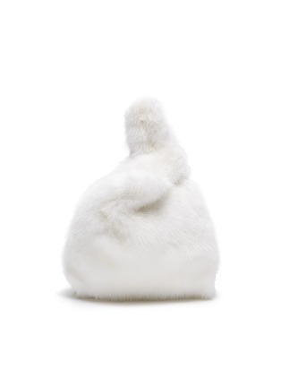 Main View - Click To Enlarge - SIMONETTA RAVIZZA - 'Furrissima Baby' mink fur sac bag
