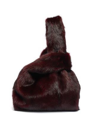 Main View - Click To Enlarge - SIMONETTA RAVIZZA - 'Furrissima' mink fur sac bag