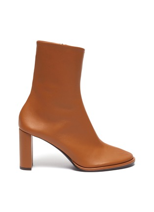 Main View - Click To Enlarge - THE ROW - 'Tea Time' leather ankle boots