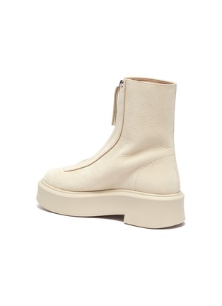 - THE ROW - Zip leather platform boots