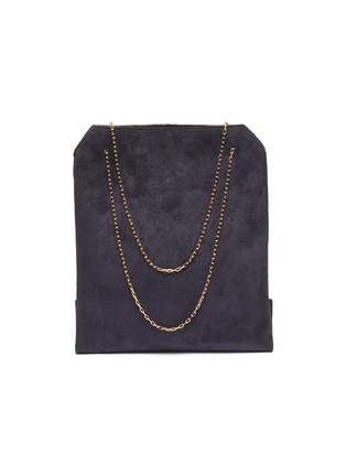Main View - Click To Enlarge - THE ROW - 'Small Lunch Bag' in suede