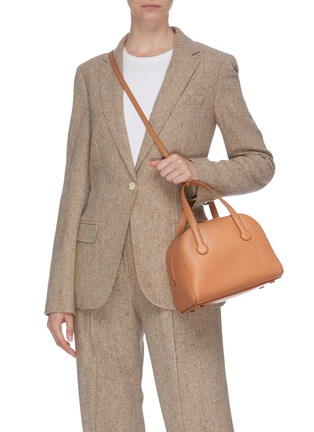 Front View - Click To Enlarge - THE ROW - 'Sporty' leather bowling bag