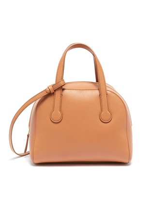 Main View - Click To Enlarge - THE ROW - 'Sporty' leather bowling bag