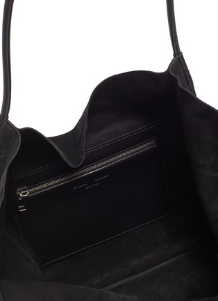 Detail View - Click To Enlarge - PROENZA SCHOULER - 'XL' suede tote