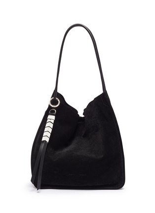 Main View - Click To Enlarge - PROENZA SCHOULER - 'XL' suede tote