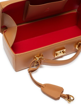 Detail View - Click To Enlarge - MARK CROSS - 'Grace Lungo' leather box bag