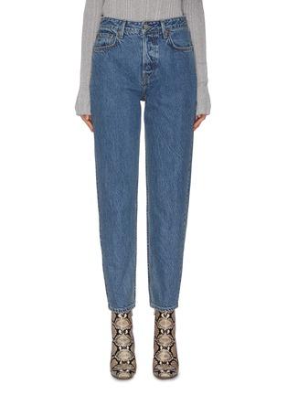 Main View - Click To Enlarge - GRLFRND - 'Devon' boyfriend jeans