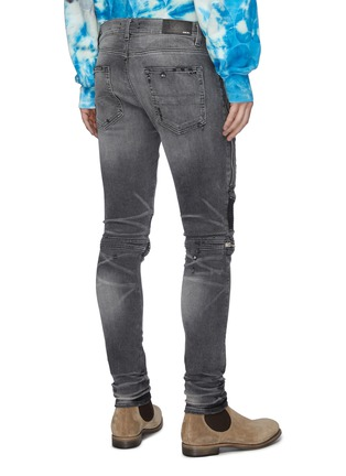 Back View - Click To Enlarge - AMIRI - 'MX2' zip detail skinny jeans