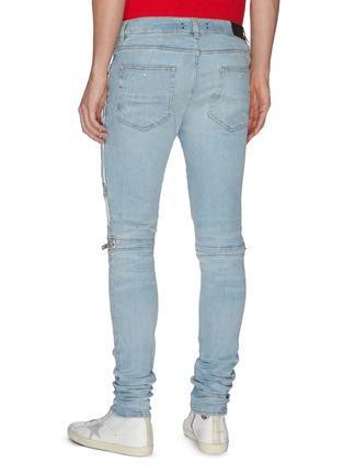 Back View - Click To Enlarge - AMIRI - MX2' ribbed panel biker jeans