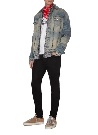 Figure View - Click To Enlarge - AMIRI - Stacked jeans